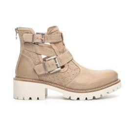 NERO GIARDINI P717120D 439 woman ankle boots beige