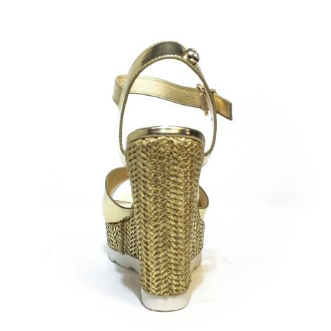 Sandalo Alta Articolo Con Byblos 039 672125 Platino Donna Colore Zeppa hsQrxdCt