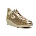 Agile by Rucoline sneaker with wedge gold color article 0226-82983 226 A NETLAM