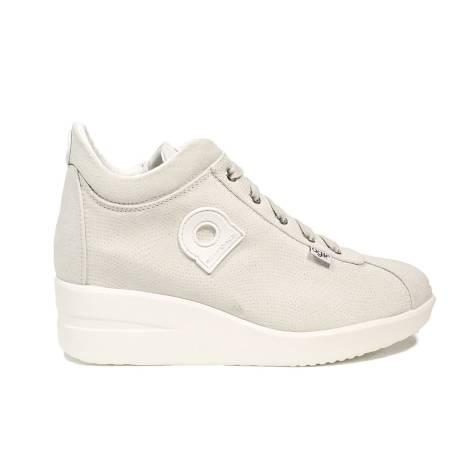 Agile by Rucoline sneaker con zeppa color ghiaccio articolo 0226-83013 226 A VORTICE