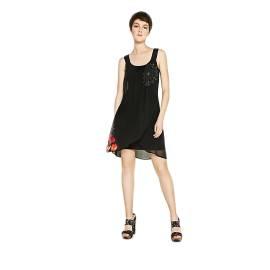 Desigual 72V2EA0 2000 vestito corto donna color nero