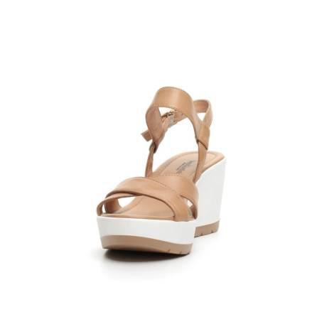Donna Giardini P717711d 400 Nero Color Sandalo Zeppa Con Cuoio hQdotCBxsr