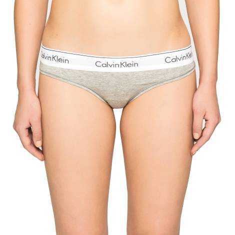 Calvin Klein F3786E-020 GRIGIO tanga donna color grigio