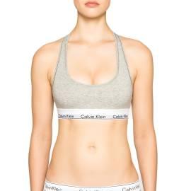 Calvin Klein F3785E-020 GRIGIO reggiseno sportivo donna color grigio
