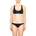 Calvin Klein F3785E-001 NERO reggiseno sportivo donna color nero