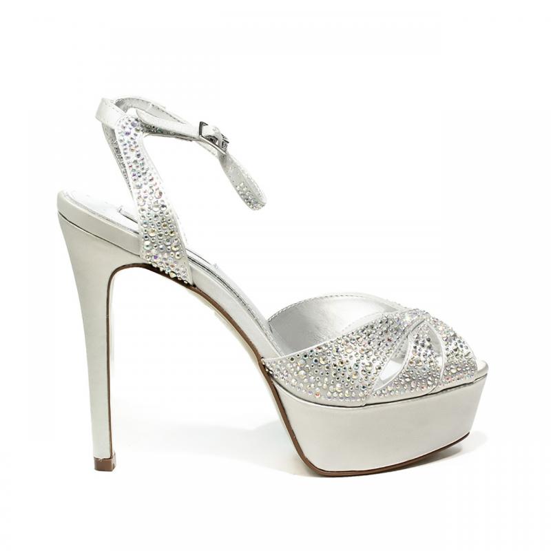 ikaros sandalo gioiello elegante con tacco alto colore