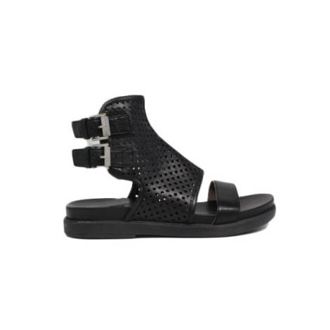 Janet sport sandali bassi con fibbia gladiatore