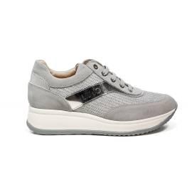 Liu Jo donna sneaker con zeppa media color argento articolo UB23042
