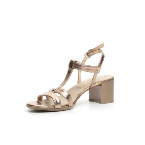 76d70d655c9ff0 Nero Giardini sandalo donna con tacco medio colore bronzo articolo P717610D  434