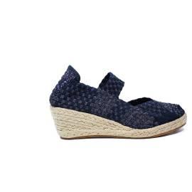 Woz sandalo elastico corda blu articolo UP317 BLU