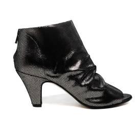 Carmens sandalo chiuso donna con tacco alto color acciaio articolo 37149 Acciaio Venere