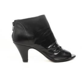 Carmens sandalo chiuso donna con tacco alto colore nero articolo 37149 Nero Barone