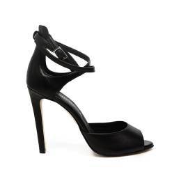 Carmens sandalo donna con tacco alto colore nero articolo 39065 Nero Giove