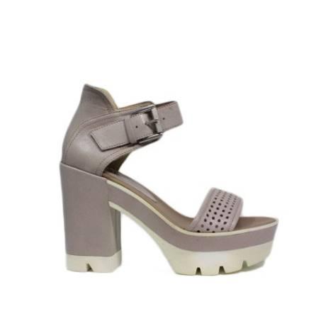 Janet sport sandali tacco alto con fibbia gladiatore