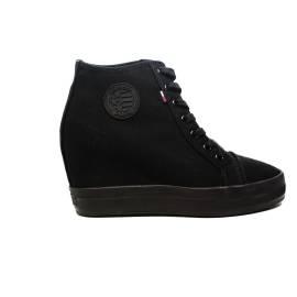 Tommy Hilfiger Sneaker con zeppa interna Nero articolo FW0FW00963/990