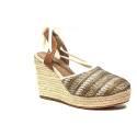 Wrangler sandalo con zeppa alta natural articolo WL171644 W0516