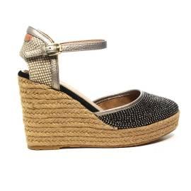 Wrangler sandalo con zeppa alta Bronzo articolo WL171650 W0097