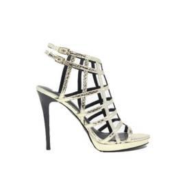 Versace Jeans Sandali Gioiello Donna Tacco Alto EOVLBS83 Oro