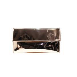Ikaros borsa pochette color champagne specchio articolo BB 2711