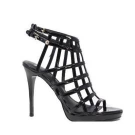 Versace Jeans Sandali Gioiello Donna Tacco Alto EOVLBS83 Nero