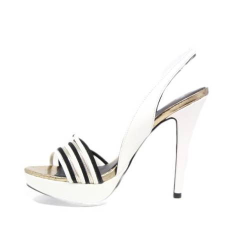 Alto Bianco Eovlbs42 Donna Gioiello Tacco Jeans Versace Sandali Ig7mbyYf6v