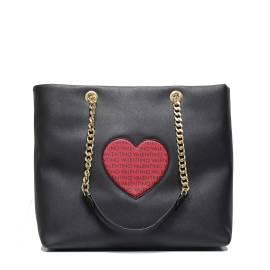 Valentino Handbags VBS1T901 LOVE NERO borsa donna con cuore centrale