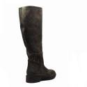 Zoe Italy boot in leather deer chamois color article 305