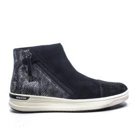 Geox sneakers con zeppa bassa colore Nero articolo j741zb 022ar c9999