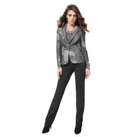 EDAS PLEOMELE NERO woman classic trousers