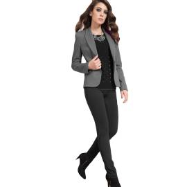 EDAS PLATANO NERO women's leggings
