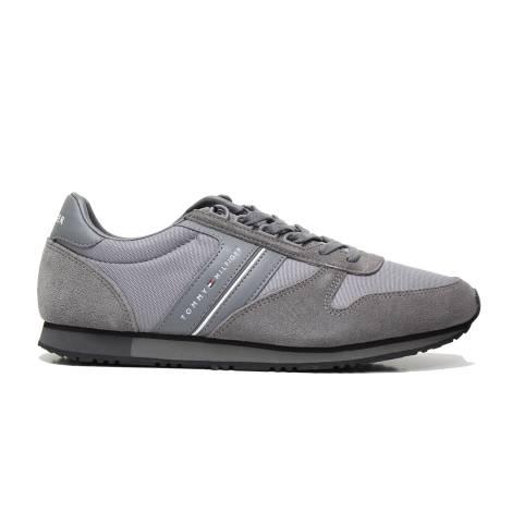 Tommy Hilfiger FM0FM01118 STEEL GRAY men sneakers