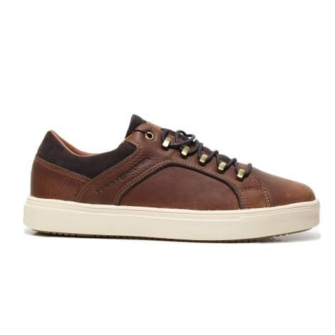 Tommy Hilfiger FM0FM01041 COGNAC man sneakers