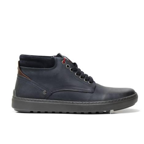 Wrangler WM172021 NAVY men's high sneaker