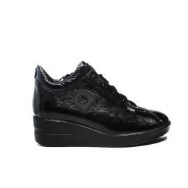 Agile by Rucoline Sneaker con Zeppa media colore nero articolo 226 a luxor