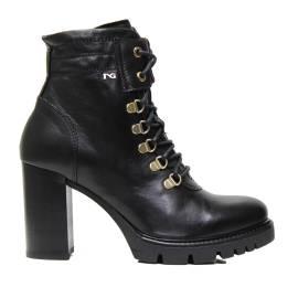 NERO GIARDINI A719911D 100 NERO woman high heel ankle boots
