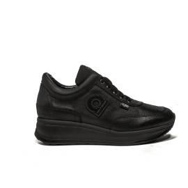 Agile by Rucoline Sneaker con Zeppa media colore nero articolo 1304 a alvin