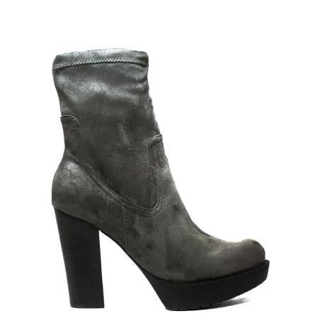 Roberta Martini ankle boot with high heel color grey article WEN-R11