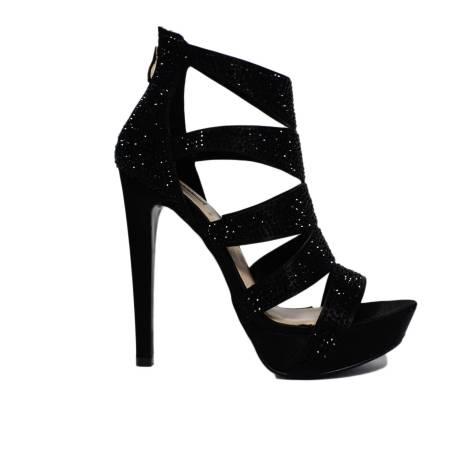 Ikaros Sandal Elegant Jewel Art. 2524 Black