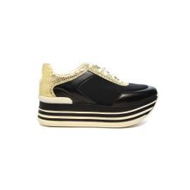 Byblos sneaker donna con zeppa alta colore nero articolo 672021 001