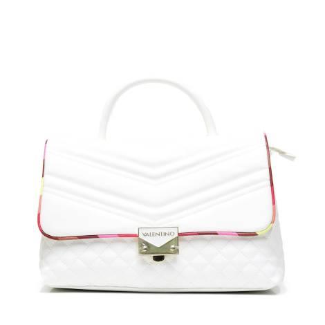 Valentino Handbags VBS2KU07 CORVETTE borsa donna con manico BIANCO/MULTI