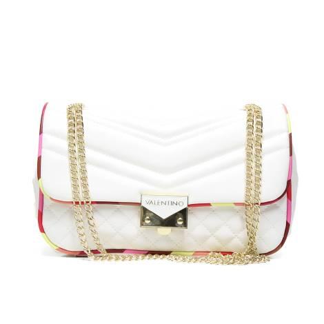Valentino Handbags VBS2KU04 CORVETTE borsa donna BIANCO/MULTIC