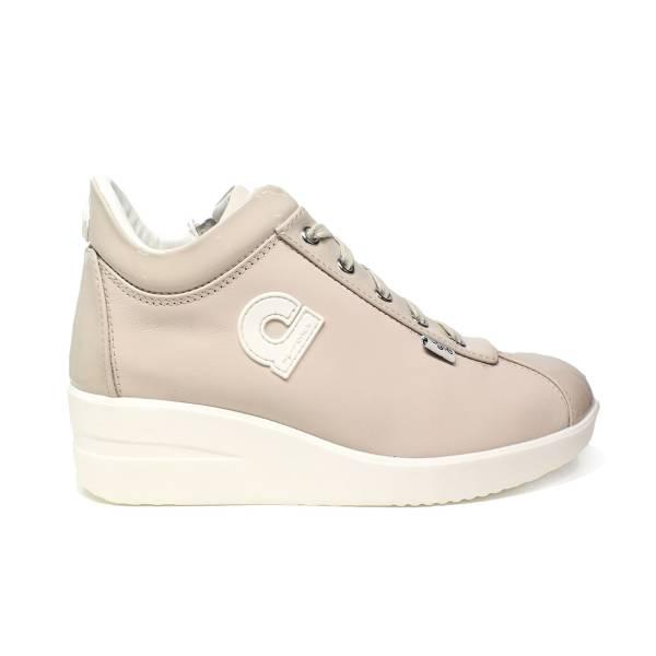 Agile by Rucoline sneaker donna con zeppa color avorio articolo 226 A CHARO CASIL AVORIO