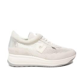 Agile by Rucoline sneaker donna traforata colore bianco con zeppa articolo 1304 A CHAMBERS SOFT BIANCO