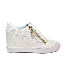 Guess white exercise with internal wedge model with internal wedge for women article FLFIE1 PEL12 WHITE