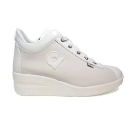 Agile by Rucoline sneaker donna con zeppa colore bianco articolo 226 A CHARO CASIL BIANCO