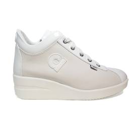 Agile by Rucoline sneaker woman with Zeppa color white ARTICLE 226 TO CHARO CASIL WHITE