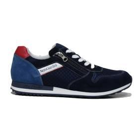 NERO GIARDINI P800371U 217 BLU man sneakers