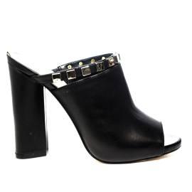 Guess sandalo donna con tacco alto colore nero articolo FLAND2 LEA19 BLACK