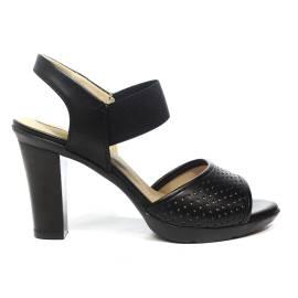 Geox sandalo donna con tacco alto colore nero articolo D821VC 00085 C9999 D JADALIS C