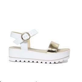 Nero Giardini P805870D 707 PLATINO woman sandal
